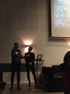 Vanja och Vibeke presenterar